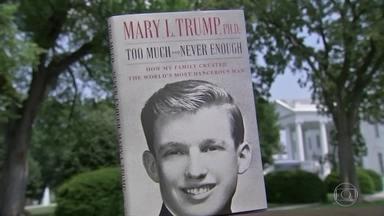 Em livro, sobrinha de Trump diz que o tio é incapaz de liderar os Estados Unidos - Livro de Mary Trump vendeu quase 1 milhão de cópias em um dia. Ela diz que, se o tio for reeleito, será o fim da democracia americana.
