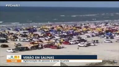 Terceiro fim de semana de julho é marcado por aglomeração e sujeira em Salinópolis - Terceiro fim de semana de julho é marcado por aglomeração e sujeira em Salinópolis