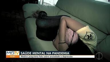 Médico fala sobre efeitos psicológicos da pandemia - Isolamento social está completando quase quatro meses.