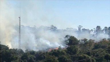 Queimada em área de mata mobiliza bombeiros no Jardim Santa Inês em Itapetininga - Uma queimada em área de mata mobilizou os bombeiros no Jardim Santa Inês, em Itapetininga (SP), nesta segunda-feira (20).