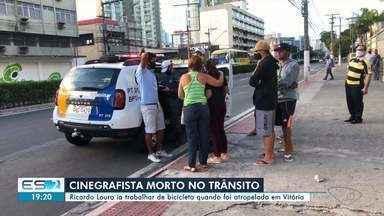 Cinegrafista morre atropelado em Vitória - Confira na reportagem.