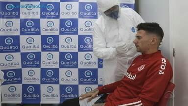 Veja detalhes do protocolo para jogos do Gauchão - Federação Gaúcha de Futebol divulgou documento que aborda preocupações para o retorno das partidas, nesta quarta-feira, em meio à pandemia do coronavírus.