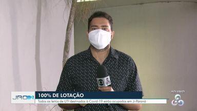 Ji-Paraná alcança 100% de ocupação dos leitos destinados a pacientes com Covid-19 - Leitos de hospital de particular foram alugados pelo poder público para atender pacientes pelo SUS