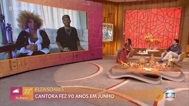 Elza Soares fala sobre a comemoração do dia da mulher negra - Data é comemorada em 25 de julho