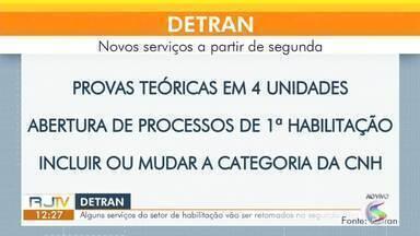 Detran retoma serviços do setor de habilitação na segunda-feira - Agendamento da prova teórica pode ser feito para realização na cidade do Rio de Janeiro.
