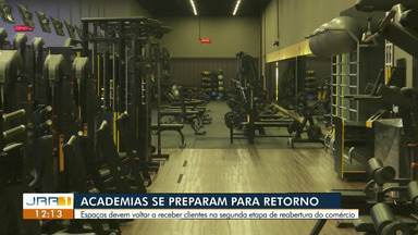 Academias devem voltar a receber clientes na segunda etapa de reabertura do comércio - Já tem empresário na segunda etapa de abertura do comércio em Boa Vista.