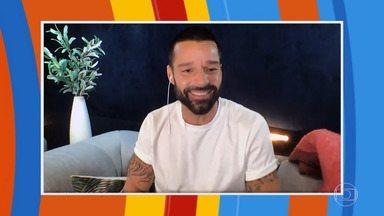 Ricky Martin lembra de quando assumiu ser gay - Huck conversa com o cantor