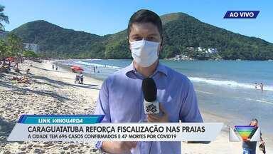 Caraguatatuba reforça fiscalização nas praias - Veja link.