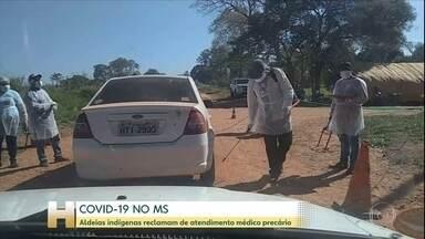 Casos de Covid-19 crescem em aldeias da região de Aquidauana (MS) - Povos indígenas reclamam que atendimento médico é precário