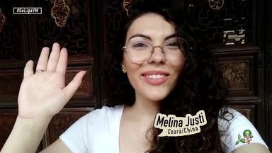 #InTodoCantoTemCearense: A estudante Melina Justi está morando na China - A fortalezense fala sobre rotina no país asiático e também sobre o momento atual