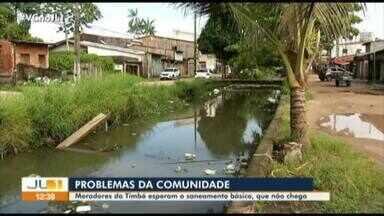 Moradores da Timbó denunciam falta de saneamento básico - Moradores da Timbó denunciam falta de saneamento básico
