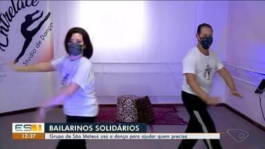 Grupo de São Mateus usa a dança para ajudar quem precisa, no Norte do ES - Veja a reportagem.