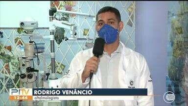 Saiba como limpar óculos e proteger olhos do coronavírus - Saiba como limpar óculos e proteger olhos do coronavírus