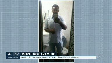 É enterrado corpo de jovem morto no Caramujo, em Niterói - Wallace dos Santos tinha 28 anos e foi morto por policiais militares depois de quebrar o vidro de uma viatura.