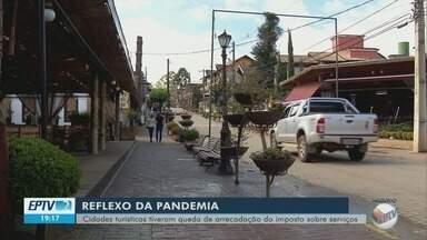 Cidades turísticas do Sul de Minas registram queda na arrecadação devido à pandemia - Cidades turísticas do Sul de Minas registram queda na arrecadação devido à pandemia