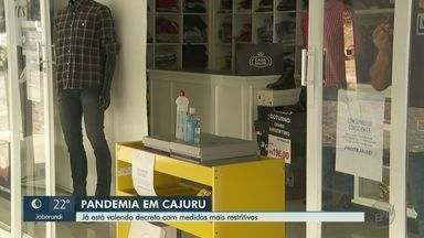 Cajuru, SP, fecha comércio aos domingos para barrar avanço da Covid-19 - Denúncias contra aglomerações podem ser feitas pelo telefone 190.