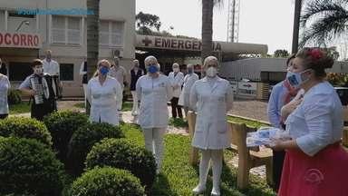 Dançarinos que participam do Desafio Farroupilha homenageiam profissionais de saúde no RS - Edição do reality é inspirada no trabalho deles durante a pandemia.