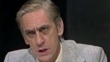 Morre, aos 89 anos, o ator Turíbio Ruiz - Nascido em Poá, Turíbio participou de produções da TV Globo. Último trabalho foi na novela 'Araguaia', em 2010.