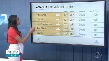 Meteorologia prevê domingo de tempo mais fresco no Sul do Rio e Costa Verde - Não há previsão de chuva para a região.