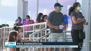 Caixa libera saque e transferências para trabalhadores nascidos em Janeiro - Saque é para benefícios de até R$ 1.045.