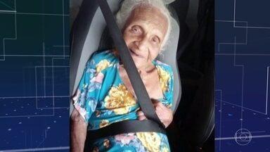Familiares de pacientes reclamam da escassez de ambulâncias em Goiânia - Dona Gasparina, de 80 anos, estava internada e precisava de uma UTI. A vaga apareceu, mas segundo a família, o Samu demorou para chegar. Horas depois de chegar ao hospital, ela morreu.