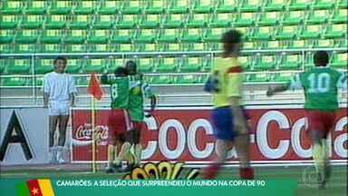 Camarões: a seleção que surpreendeu o mundo na Copa de 90 - Camarões: a seleção que surpreendeu o mundo na Copa de 90