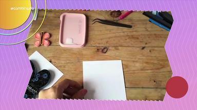Kelling: Aprenda técnica para decorar usando papel - Artesã Gabriela Barbosa ensina o passo a passo