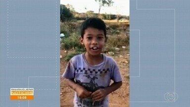 Polícia diz que há indícios de que corpo encontrado em mata seja do menino desaparecido - Danilo de Sousa Silva, de 7 anos, desapareceu há quase uma semana em Goiânia.