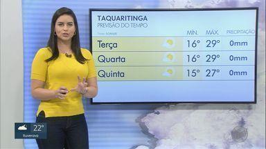 Veja a previsão do tempo para esta terça-feira (28) na região de Ribeirão Preto - Calor e tempo seco continuam nas cidades da região.