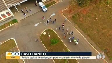 Polícia agiliza investigação para esclarecer morte de Danilo Sousa, em Goiânia - Menino estava desaparecido e teve corpo encontrado em matagal.
