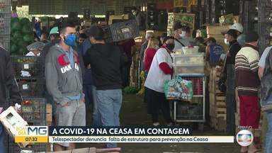 Frequentadores reclamam de falta de cuidados na Ceasa - Administração nega e diz que segue protocolos de segurança por causa da Covid-19.