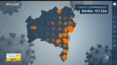 Especialistas preveem que a curva de casos de Covid-19 na Bahia comece a cair em agosto - Veja os dados estatísticos da pandemia em todo o estado.