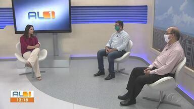 Especialista avaliam flexibilização em Alagoas - Infectologista Fernando Maia e professor pesquisador da Ufal Gabriel Badue alertaram sobre a Covid-19.