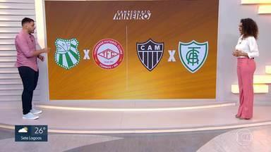 Tombense, América-MG, Atlético-MG e Caldense disputam as semifinais do Campeonato Mineiro - Tombense, América-MG, Atlético-MG e Caldense disputam as semifinais do Campeonato Mineiro