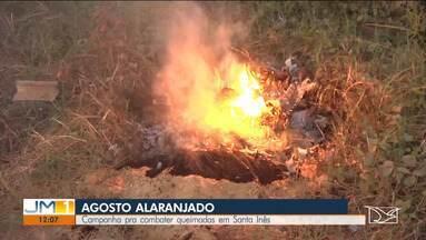 Santa Inês lança campanha contra queimadas durante o mês de agosto - O 'Agosto Alaranjado' vai contar com a participação de autoridades locais.