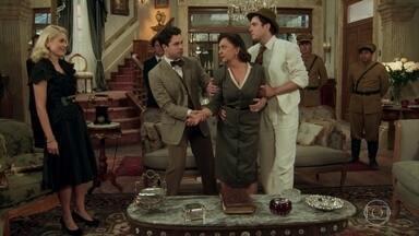 Anastácia, Candinho e Maria deixam a mansão - Anastácia fica furiosa com Sandra