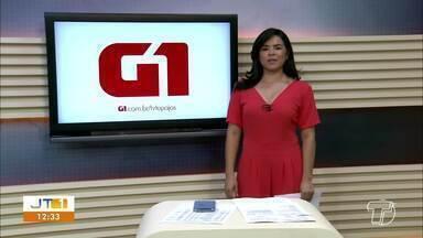 Investimentos do governo do estado em Placas e Aveiro é notícia em destaque no G1 - Acesse a reportagem completa no g1.com.br/tvtapajos