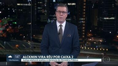 Justiça suspende ação contra ex-governador José Serra - Em outra decisão, justiça torna o também ex-governador, Geraldo alckmin, réu por susposto crime eleitoral