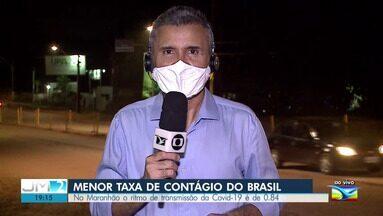 Maranhão tem a menor taxa de contágio do novo coronavírus do Brasil. - Os detalhes com o repórter Werton Araújo.