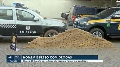 Homem é preso por tráfico de drogas em Ipiranga do Norte - Homem é preso por tráfico de drogas em Ipiranga do Norte.