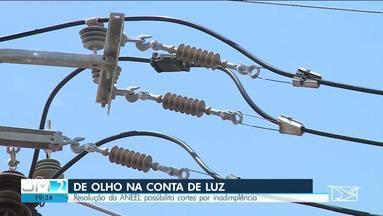 Consumidores poderão ter fornecimento de energia elétrica suspenso por falta de pagamento - Medida se baseia em resolução da ANEEL, e entra em vigor a partir do mês que vem.