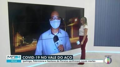 Ipatinga tem novas vítimas de Covid-19 nesta quinta (30) - De acordo com o município, taxa de ocupação de leitos também subiu.
