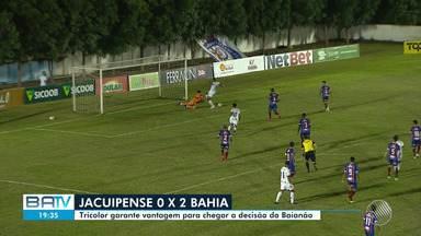 Baianão: Bahia vende o Jacuipense por 2 x 0; Atlético-BA venceu o Juazeirense por 4 x 1 - Confira.