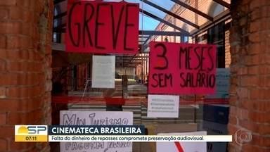 Cinemateca Brasileira sofre com falta de repasses do Governo Federal - Instituição fundada nos anos 50 precisa de recursos pra manter preservação da história do audiovisual brasileiro.
