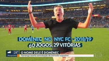Domènec Torrent assina contrato e será o novo treinador do Flamengo - Domènec Torrent assina contrato e será o novo treinador do Flamengo