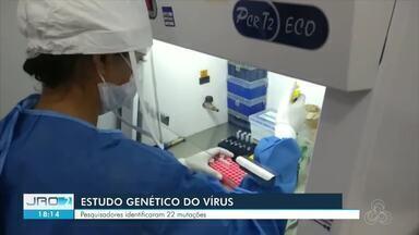 Pesquisa da Fiocruz em RO identifica mais de 20 mutações do vírus da Covid-19 - Os estudos também mostram fatos curiosos, como uma mutação até então desconhecida