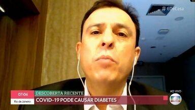 COVID-19 pode causar diabetes - Crianças sem sintomas podem transmitir COVID