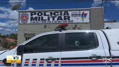 Policiais do Vale do Pindaré e São Luís continuam buscas por assaltantes - Criminosos explodiram agência bancária na cidade de São João do Carú na noite de sexta-feira (31).