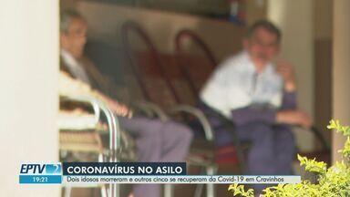 Dois idosos morrem e outros cinco se recuperam da Covid-19 em asilo de Cravinhos, SP - Ao todo, doença já matou 11 pessoas que moravam em asilos na região de Ribeirão Preto.