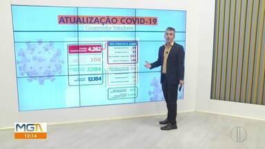 Governador Valadares chega a 149 óbitos por Covid-19 - Veja também a ocupação dos leitos de hospital na cidade.